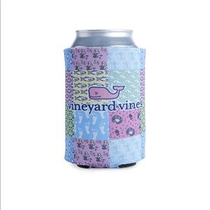 Vineyard Vines Patchwork Coozie